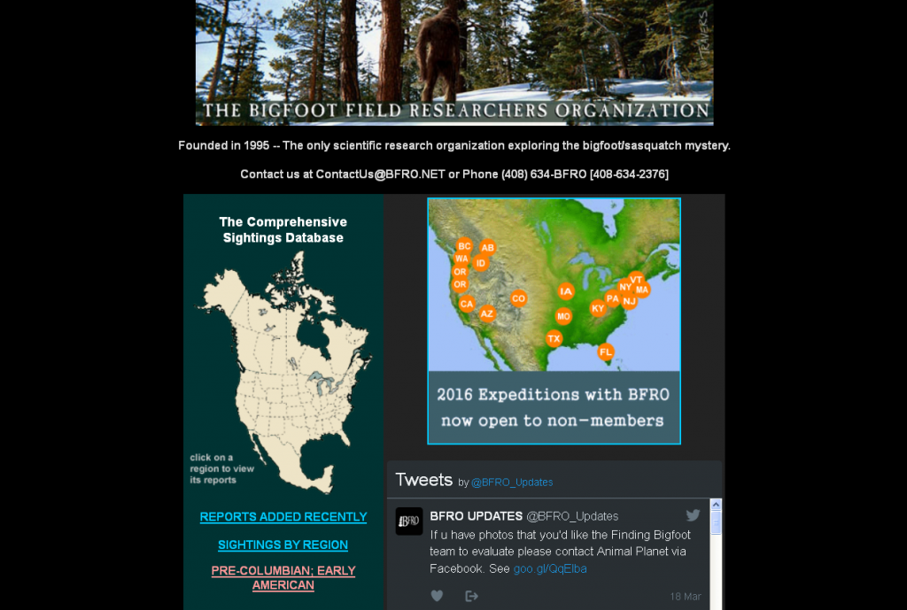 Bigfoot Field Researchers Association