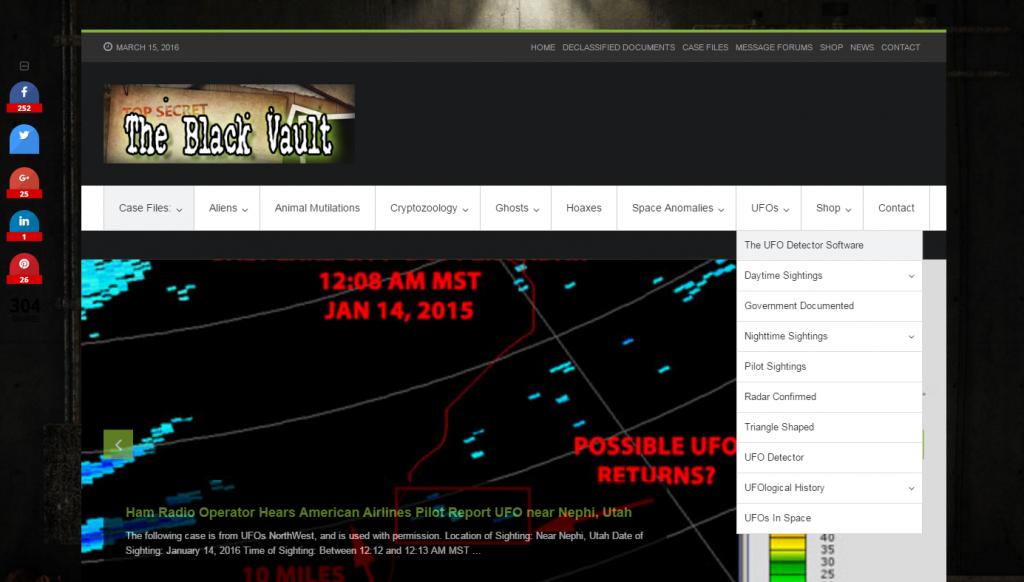the blackvault website